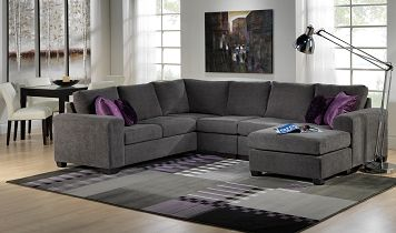 Living Room Furniture-Danielle 3 Pc. Sectional