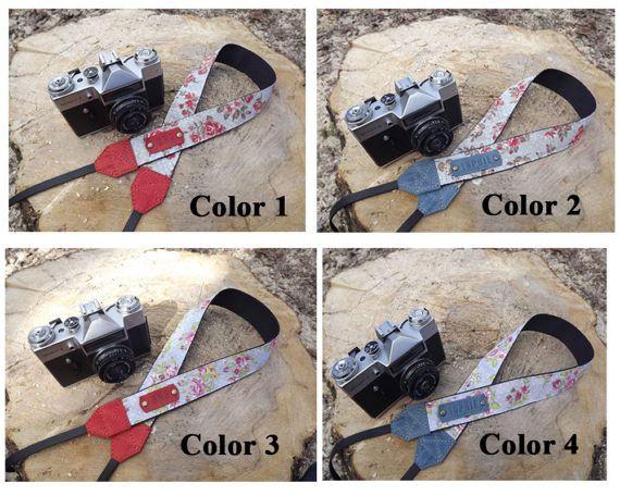 Camera strap/Leather camera strap/Personalized camera