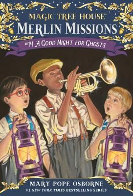 A Good Night for Ghosts by Mary Pope Osborne (3rd grade)