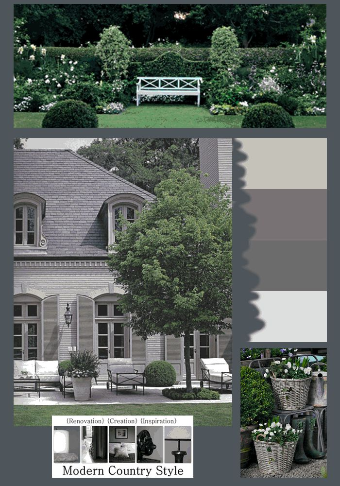 Modern Country Style: The Best Front Door Paint Colours: Dusky Purples Click through for details.