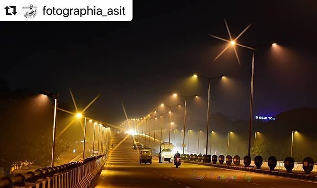 nightview #streets #bhubaneswarbuzz pic sent by