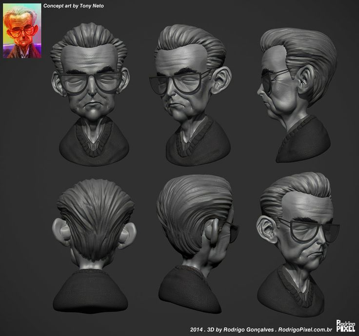 Character Design Vimeo : Best images about d speed sculpting on pinterest