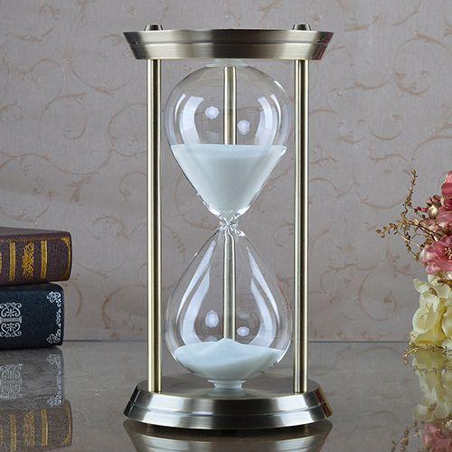 Украшения песочные часы таймер, чтобы отправить ее бойфренд подруги подарок на день рождения украшения аксессуары для дома гостиная Детей