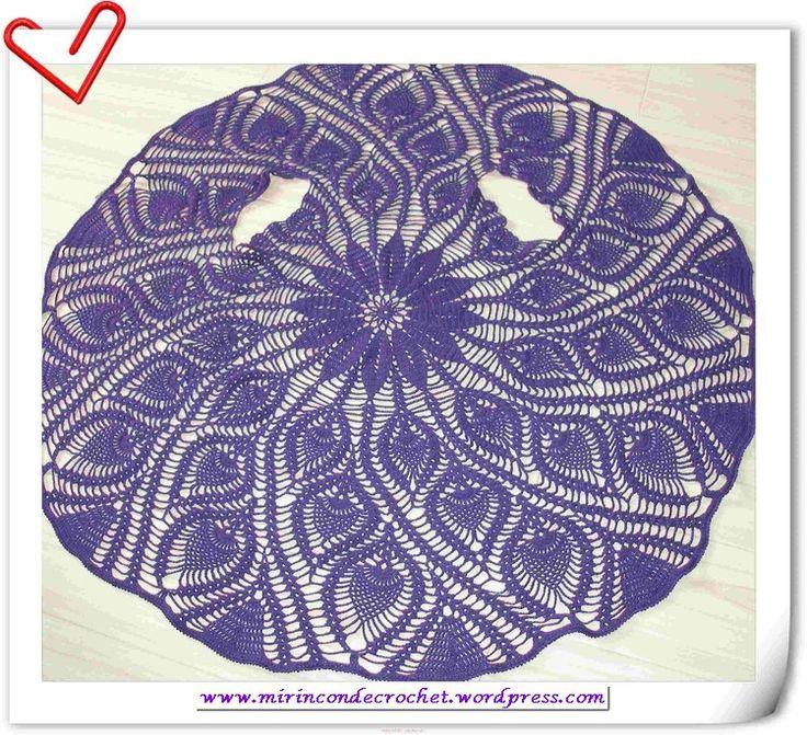 Chalecos circulares   Mi Rincon de Crochet