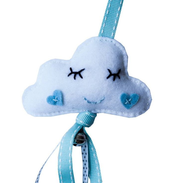 Dingle Dangle Cuddly Clouds - Cot Mobiles - Baby Belle - 3