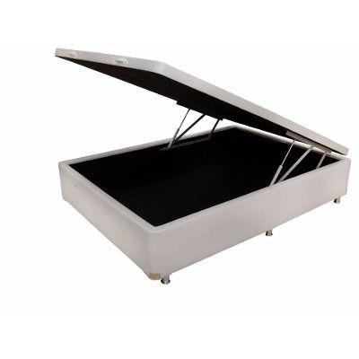 Cama Box Baú Viúva 128 X 188 X 42 - quarto de hospedes