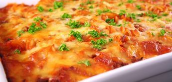 vegetarische of groentenlasagne