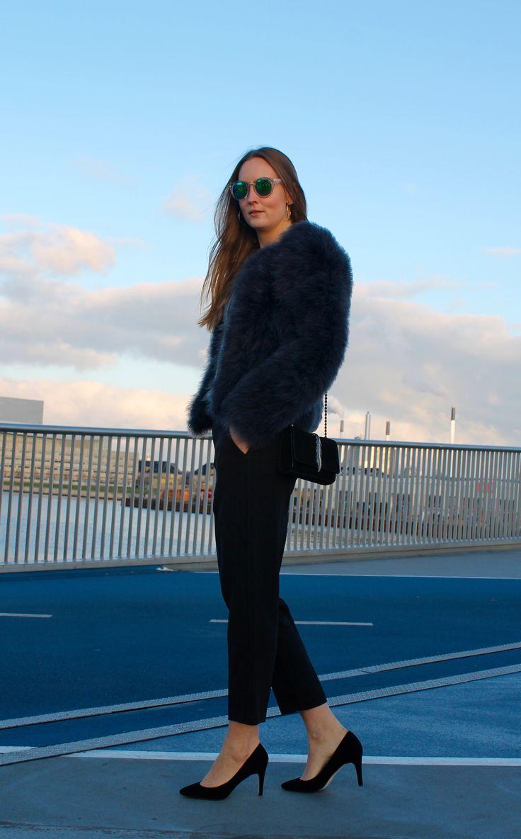 Yolanda pants in Black and High Heels in Black // Dea Kudibal // AW16 // La Femme Allure