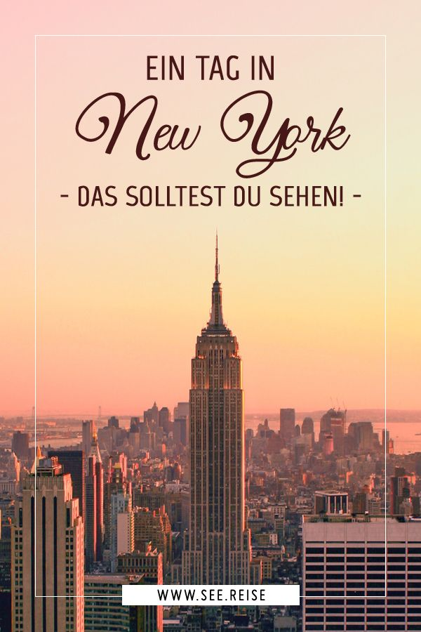 Ein Tag in New York