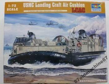 Корабль на воздушной подушке USMC Landing-(1:72)