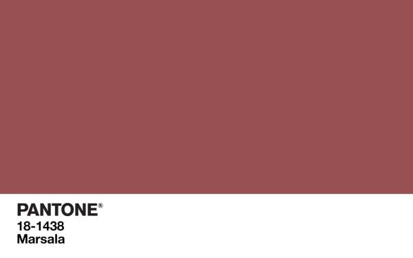 Pantone Color of the Year 2015: Marsala Colored Home Furnishings Photo