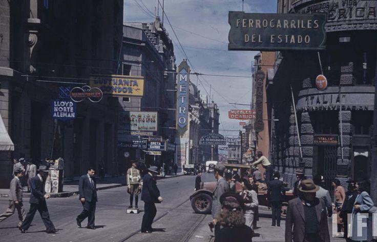 1930, calle Bandera, revista Life
