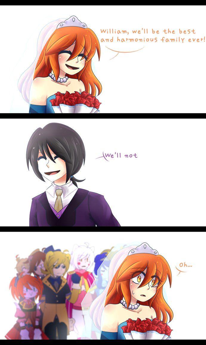 Just Little Stupid Comic For My Fnaf Au By Kizy Ko Fnaf Anime Fnaf Fnaf Funny