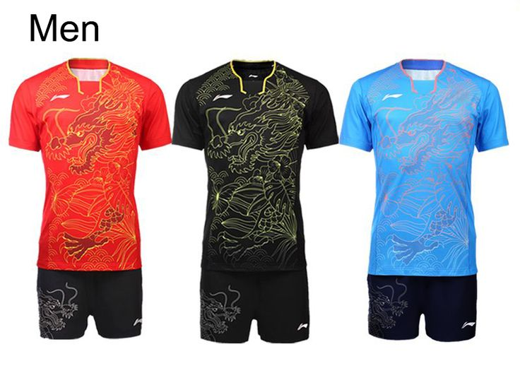 # Cheap Price New Chinese Team table tennis clothes Mens Table Tennis jersey Pingpong shirt sets Zhang Jike Ma Long uniforms  [fZlpoNdq] Black Friday New Chinese Team table tennis clothes Mens Table Tennis jersey Pingpong shirt sets Zhang Jike Ma Long uniforms  [rjdswI2] Cyber Monday [FyU2C1]