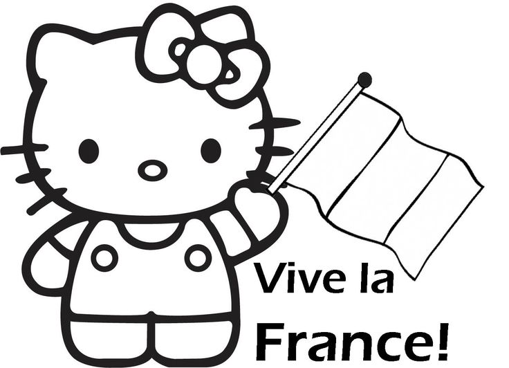 pirate hello kitty coloring pages - photo#10
