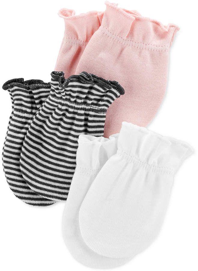Carters Baby Girls 3-Pack Legging