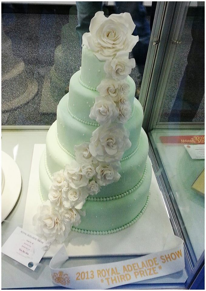 41 best successful students alumni images on pinterest most successful cake decorating exhibitor in intermediate section wedding cake by junglespirit Images