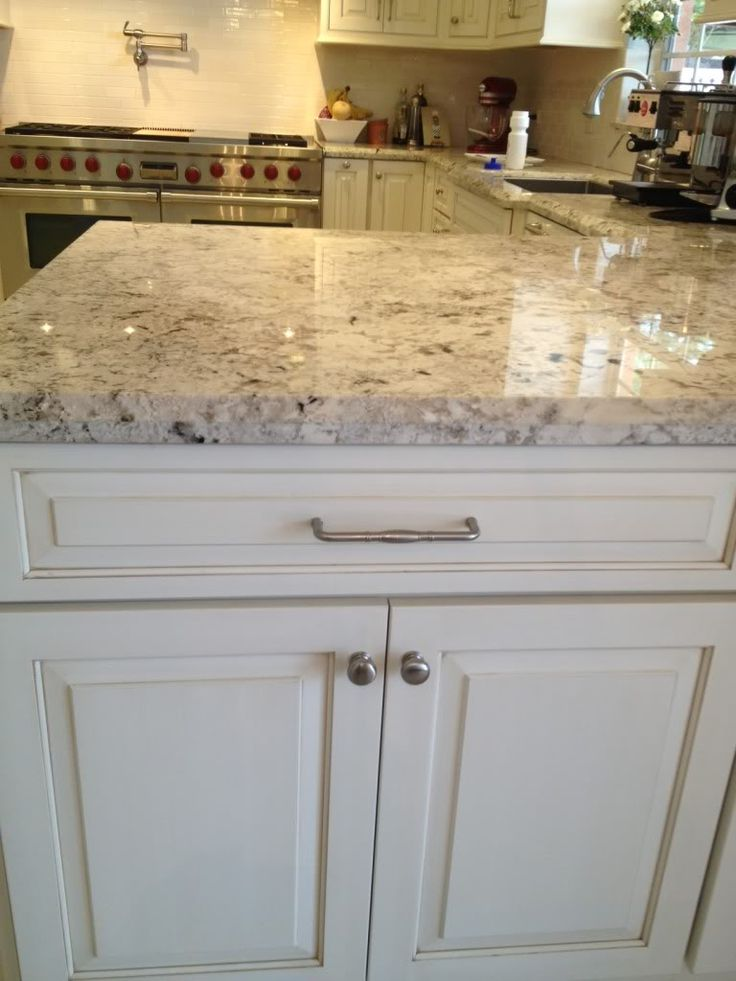 78 best granite images on pinterest for White cabinets granite countertops