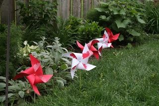 My Own Four Corners: Canada Day Patriotic Childrens Craft