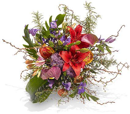 """Blumenstrauß """"Flower Power"""" vom Blumenversand bunte-wunder.de: ab 20,00 €, zzgl. günstigen Zustellkosten, Lieferung sofort in ca. 60 Minuten oder zum Wunschtermin"""
