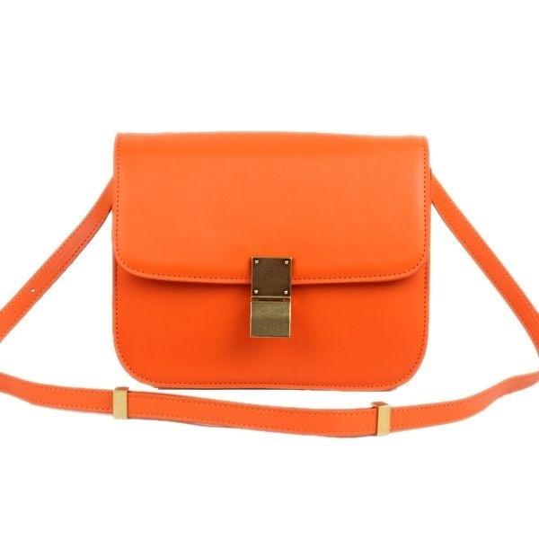 Celine рыжая сумка