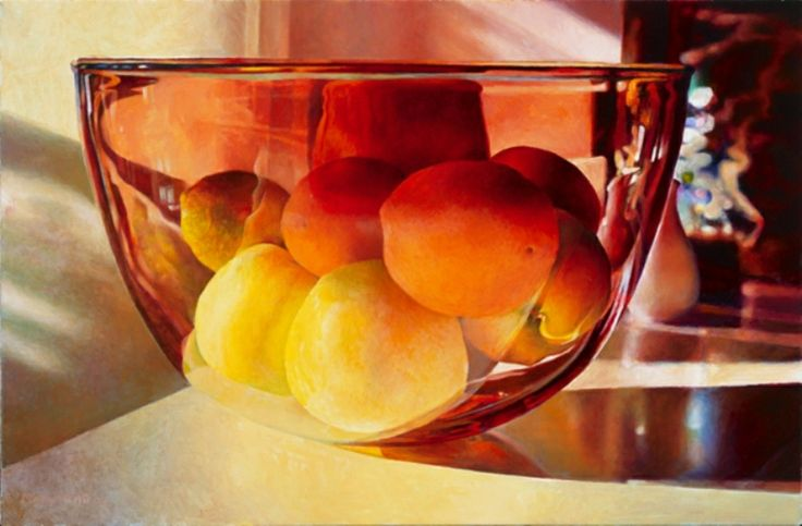 by Mary Pratt- this is watercolour, not a photograph!