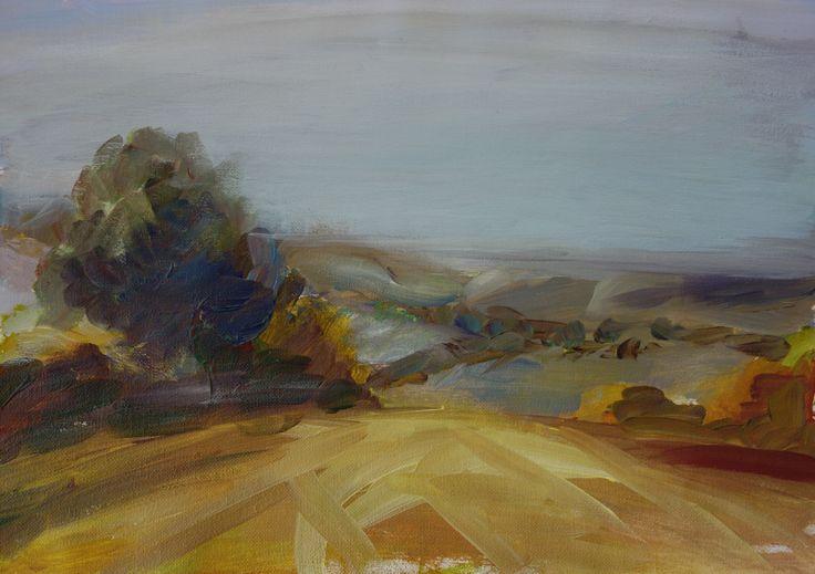 """Lipowiec - Roztocze"""", 40x27,5 cm, acrylic"""
