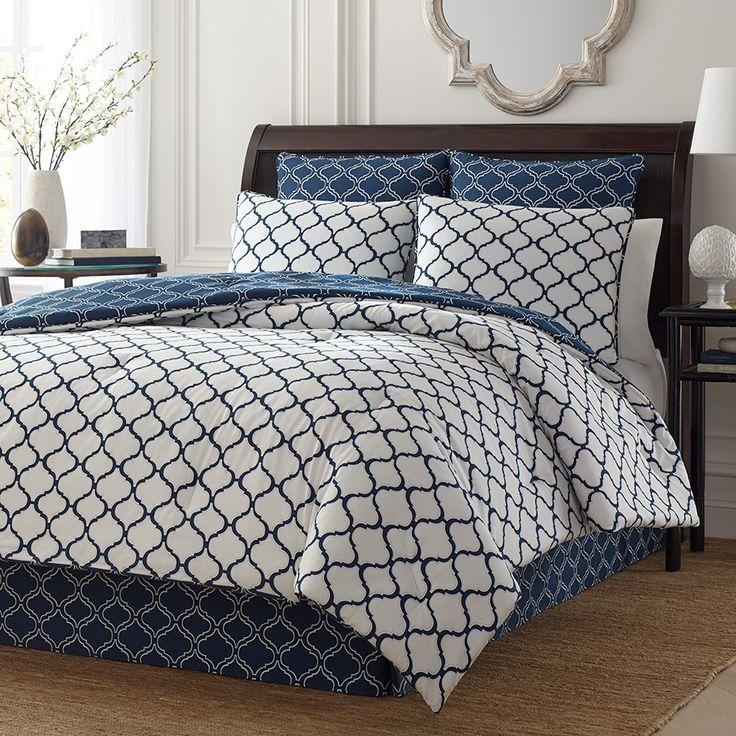 Stone Cottage Savannah Navy Comforter Amp Duvet Set
