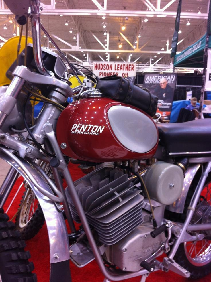Penton 1970 100cc at the 2012 Progressive International Motorcycle Show Cleveland