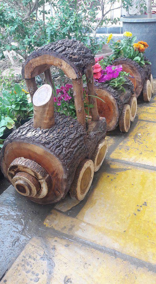 garden train -Inspiration für schöne Gartendekoration #Garten #DIY #Bauen #Bas