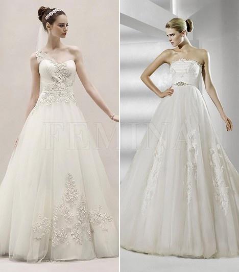 A legszebb esküvői ruhák 2012-ben | femina.hu