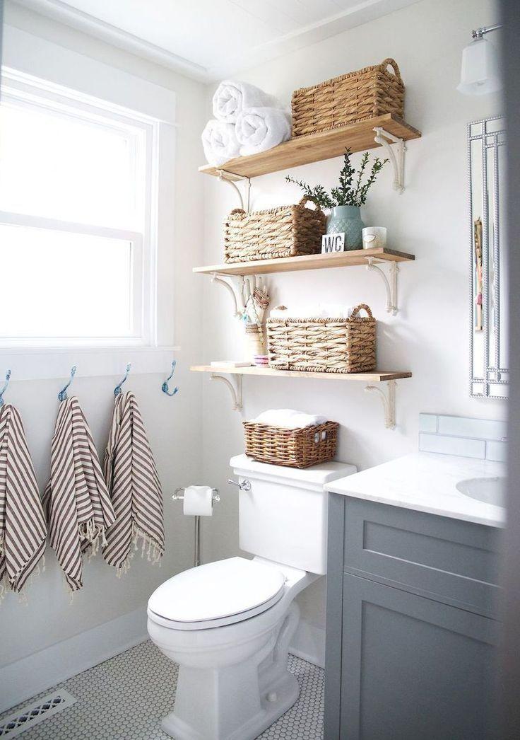 Rustic farmhouse bathroom remodel ideas 37 133