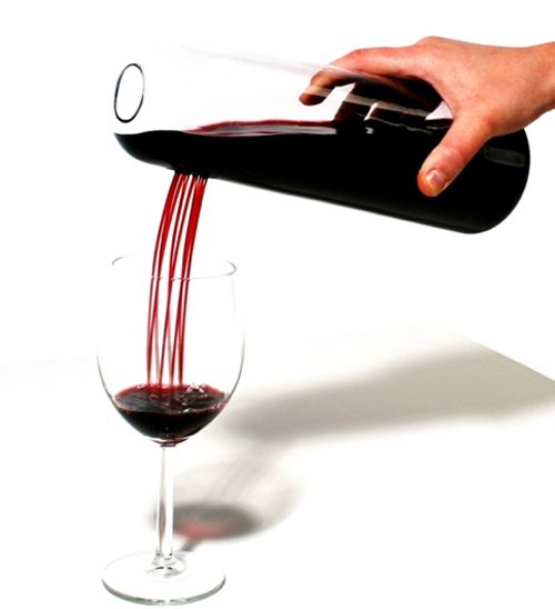 Rainman Wine Decanter by Skruf - LOVE this! I would feel so special pouring wine out of this for my guests!
