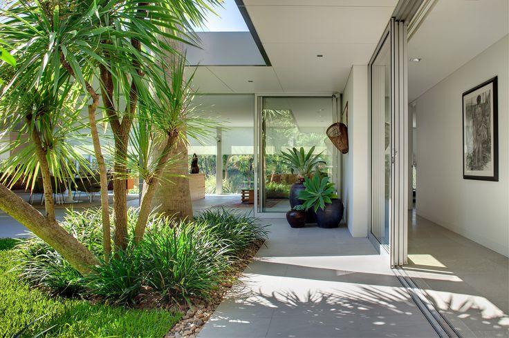 House view to garden