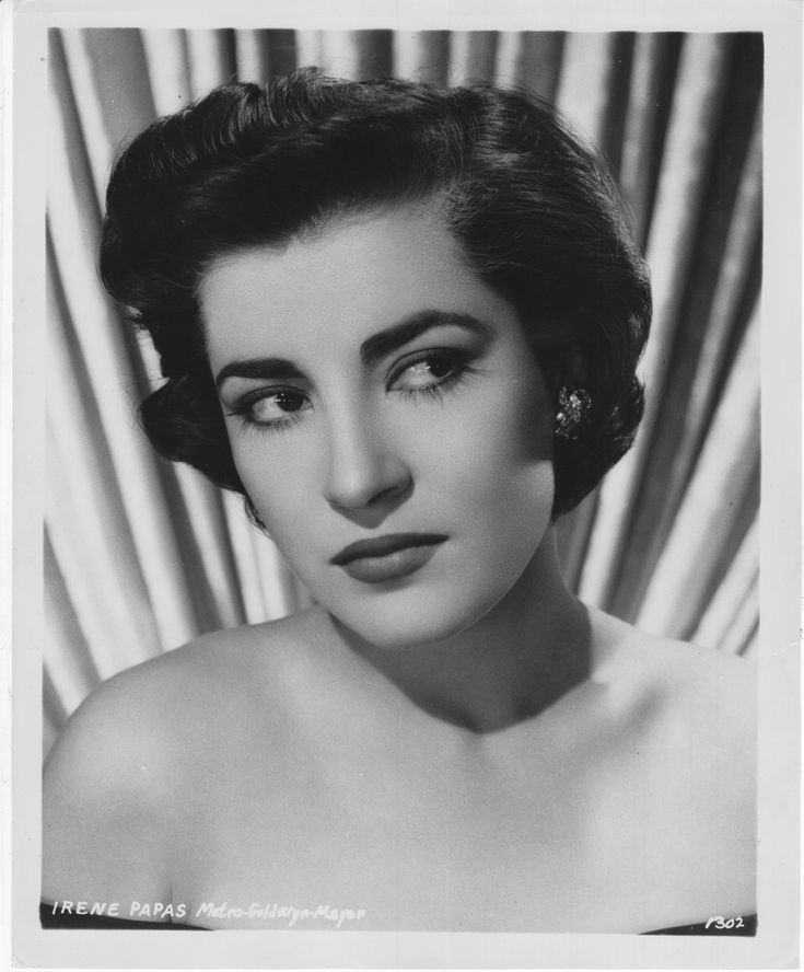 Irene Papas (Greek Ειρήνη Παππά; born 3 September 1926) is a retired Greek actress and occasional singer, who has starred in over seventy films in a career spanning more than fifty years.