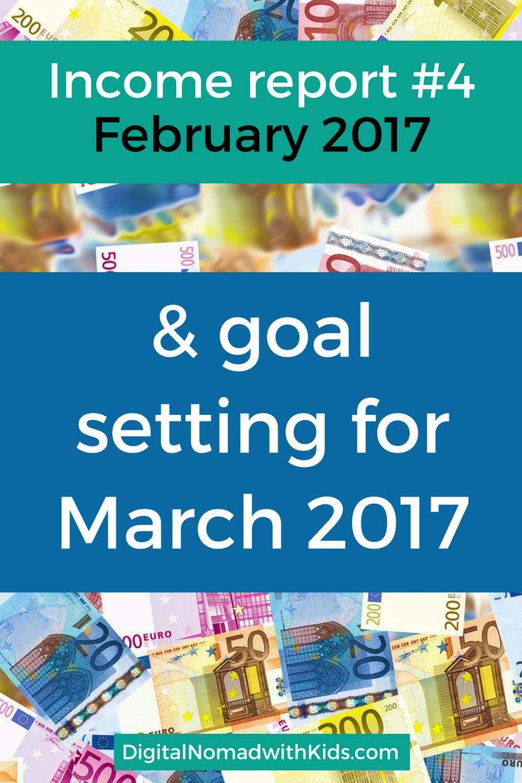 Income Report February 2017 | newbie freelance writer and niche blogger | digital nomad family