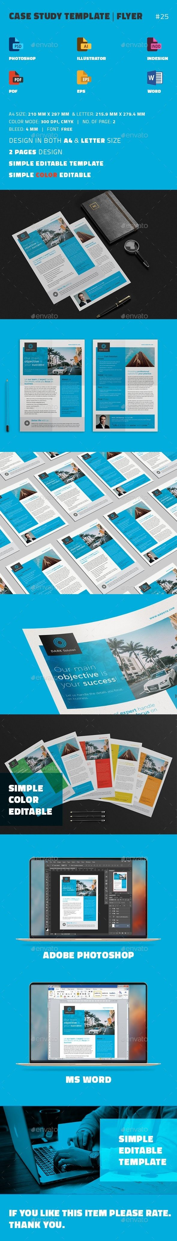 Best Case Study Templates Images On   Brochure