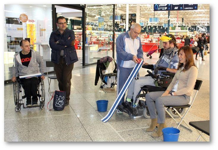 III LIGA DE BOCCIA UNA MAYOR VISIBILIDAD A LAS PERSONAS CON DISCAPACIDAD  Asuntos Sociales Ayuntamiento de Albacete Centro Comercial Albacenter III Liga de Boccia