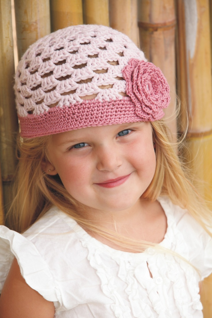 Crochet Girly Hat