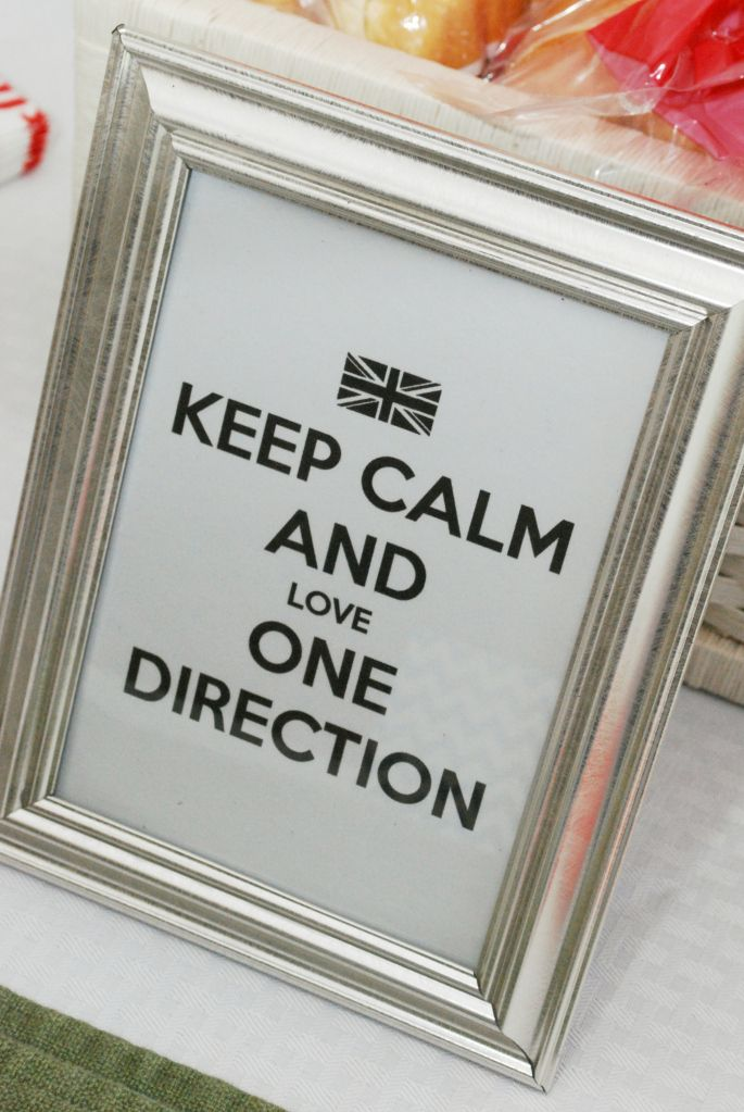 One Direction Party w/ FREE PRINTABLES
