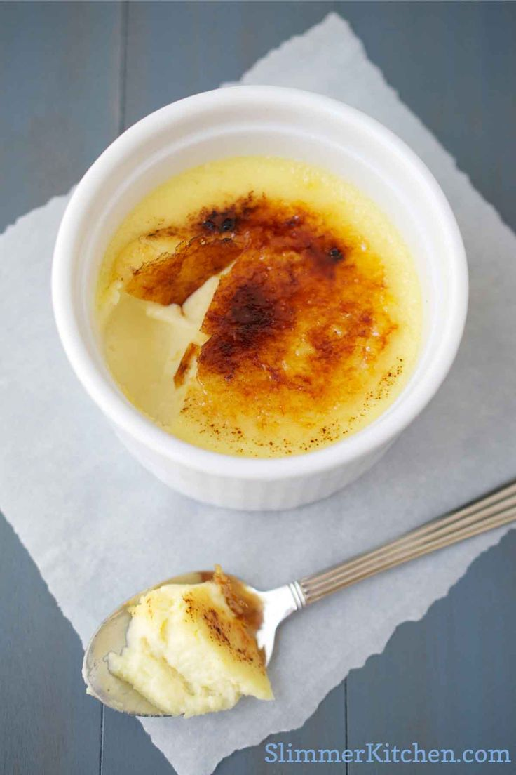 50 variations of creme brulee like espresso; cinnamon; orange; white chocolate; lime...and more