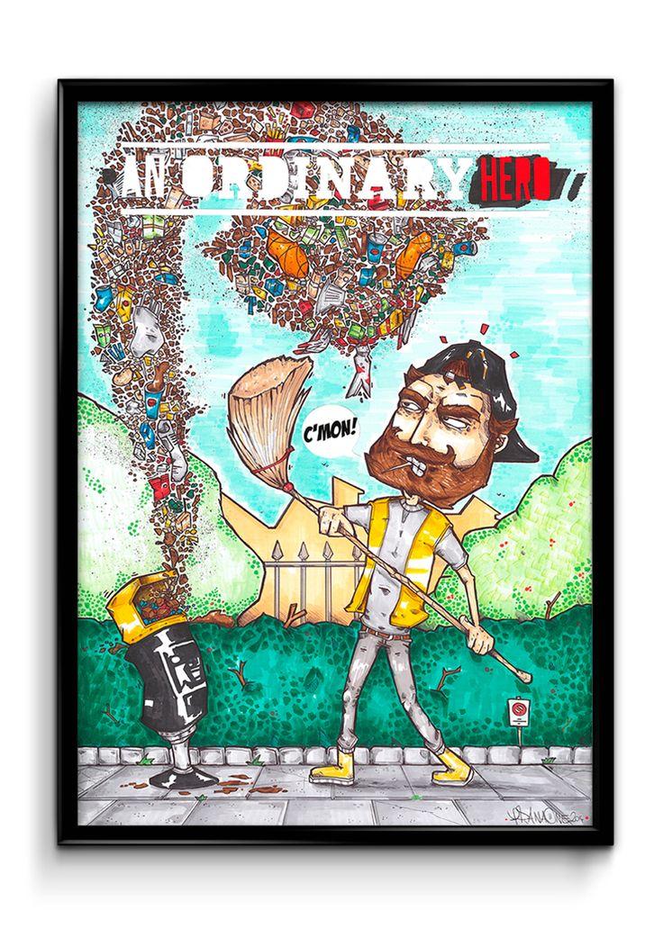 THE DUSTMAN (An Ordinary Hero)