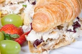 Mad Hatter Tea Room's  Famous Chicken Salad Recipe  Cranberry Pecan Chicken Salad