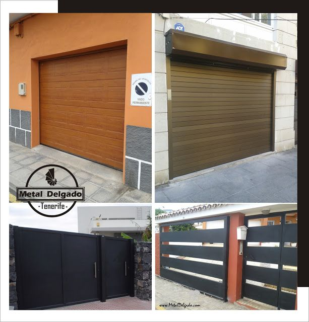 22 best puertas garaje images on pinterest garages door for Puertas para garage