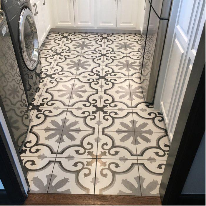 Nouvelle Classic 12 X 12 Ceramic Field Tile Tile Bathroom