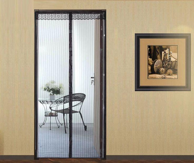 Магнитный Летающее Насекомое Дверь Бесплатно Экран Занавес москитная сетка разн. цвет, разница размер, большой размер для специальные двери