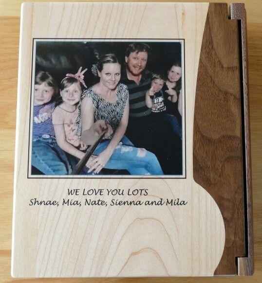 Photo album Timber back cover printed MyChoice@Firebridge