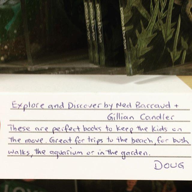 Thanks Doug from Whitcoulls! #exploreanddiscoverseries #nonfictionforkids #booksforchildren #nedbarraud #whitcoullsnz #nzwildlife #nzkidsbooks #nzbooksforchildren #bookshopreviews #bookshop
