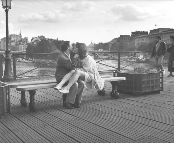 EDOUARD BOUBAT  Paris Pont Des Arts, 1990: French Photography, Paris Pont, Boubat Edouard, 1930S Paris, Art Paris, Heart Desire, Pont Des Art, Édouard Boubat, Edouard Boubat