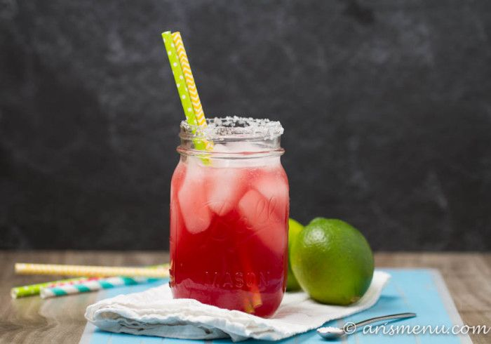 Tons of fresh flavor and the perfect amount of sweetness, tart cherry margaritas will disappear in minutes at any gathering.